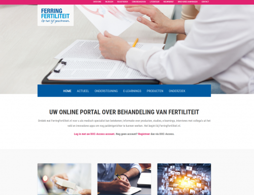 Website FerringFertiliteit